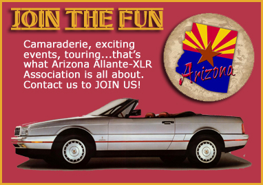 Join AZ Allante - XLR Association